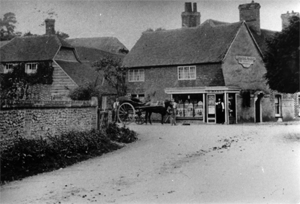 Hampstead Norreys old shop